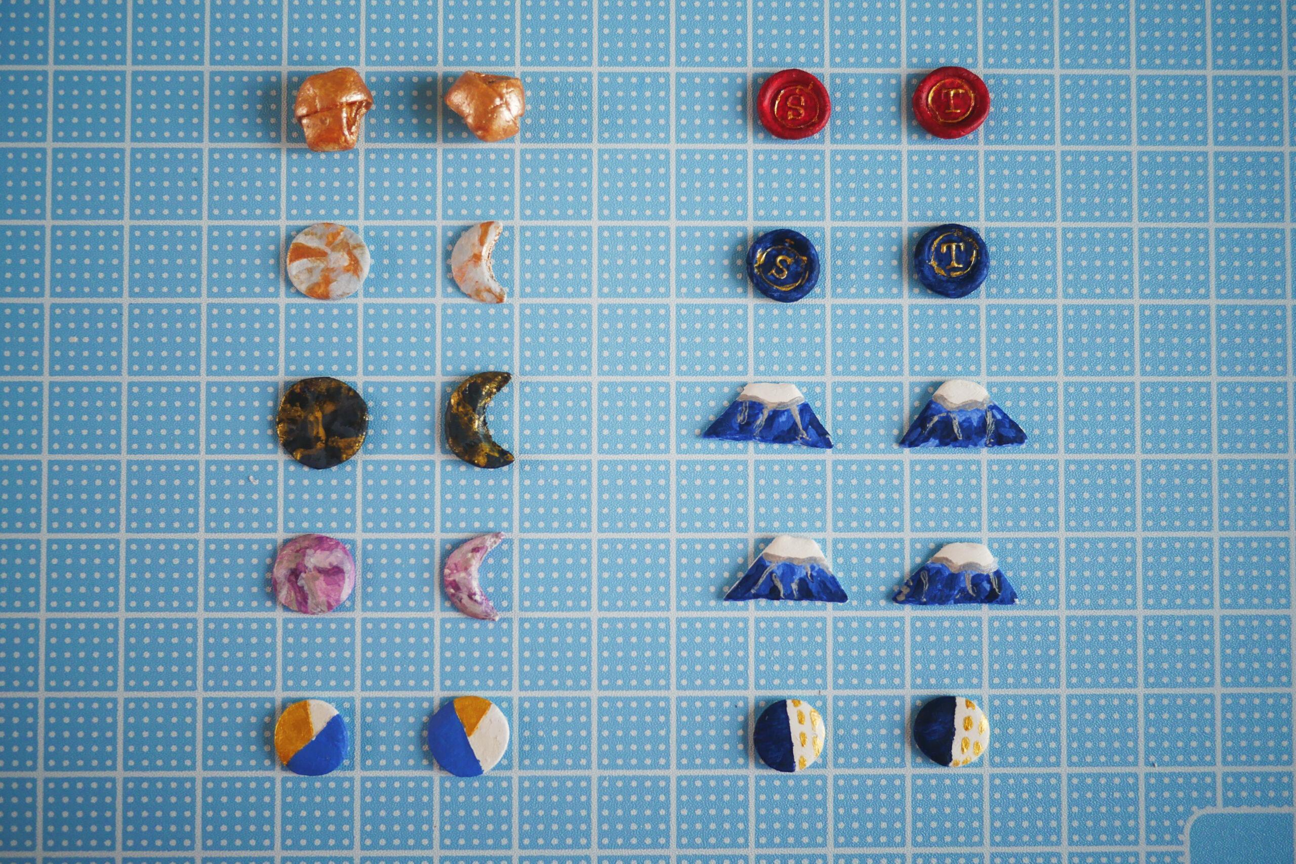 Air dry clay earrings DIY guide