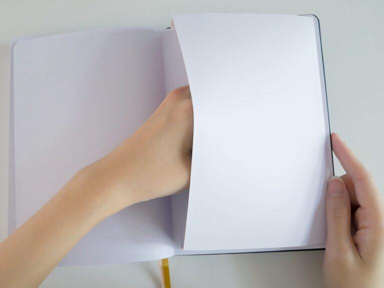 BUKE Bullet Journal Paper Pocket
