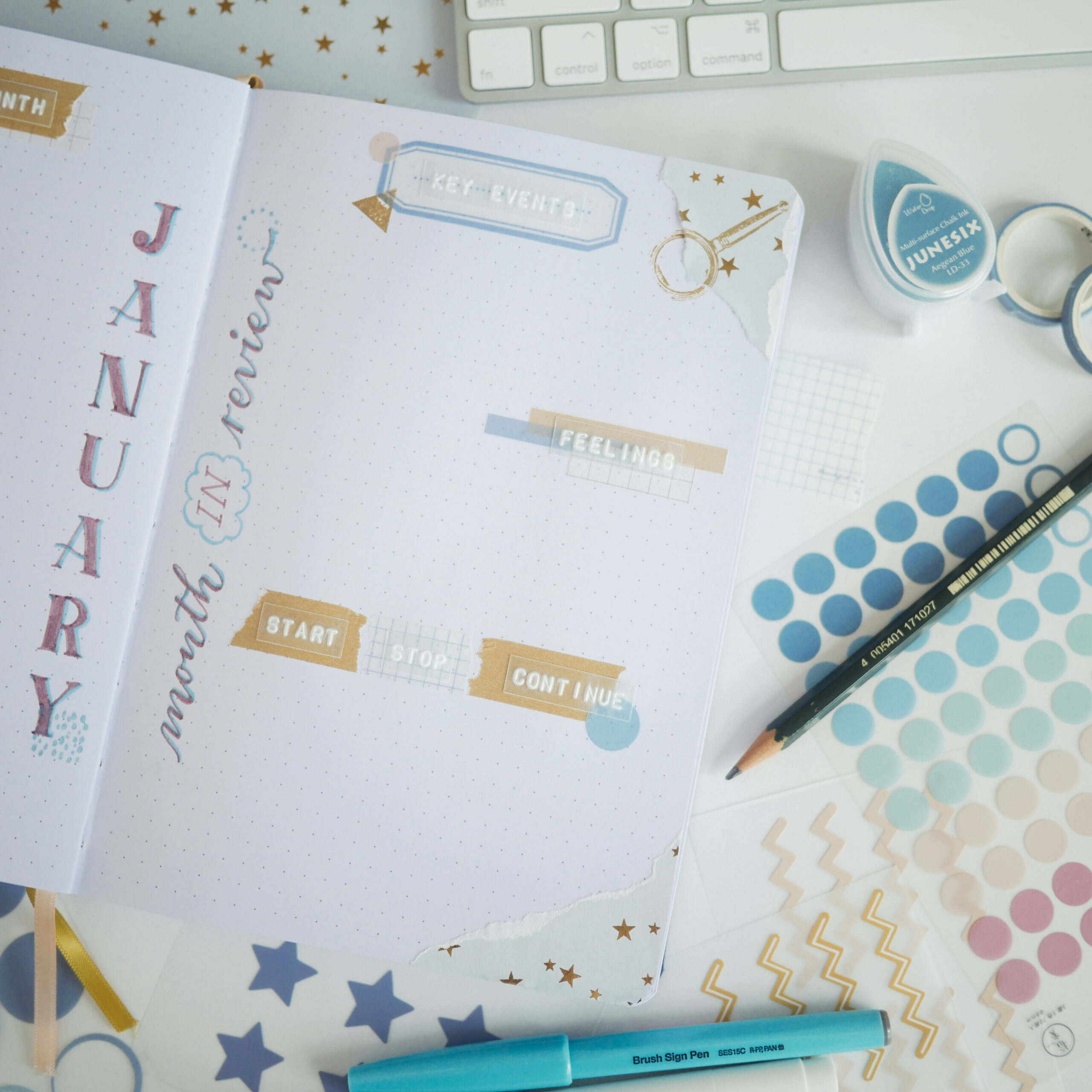Most Underrated Bullet Journal Spread: Monthly Review Ideas & Prompts