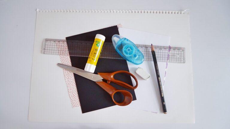 Valentine's Day Card DIY - Materials Needed