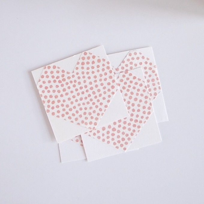 Valentine's Day Card DIY - Decorated Hearts