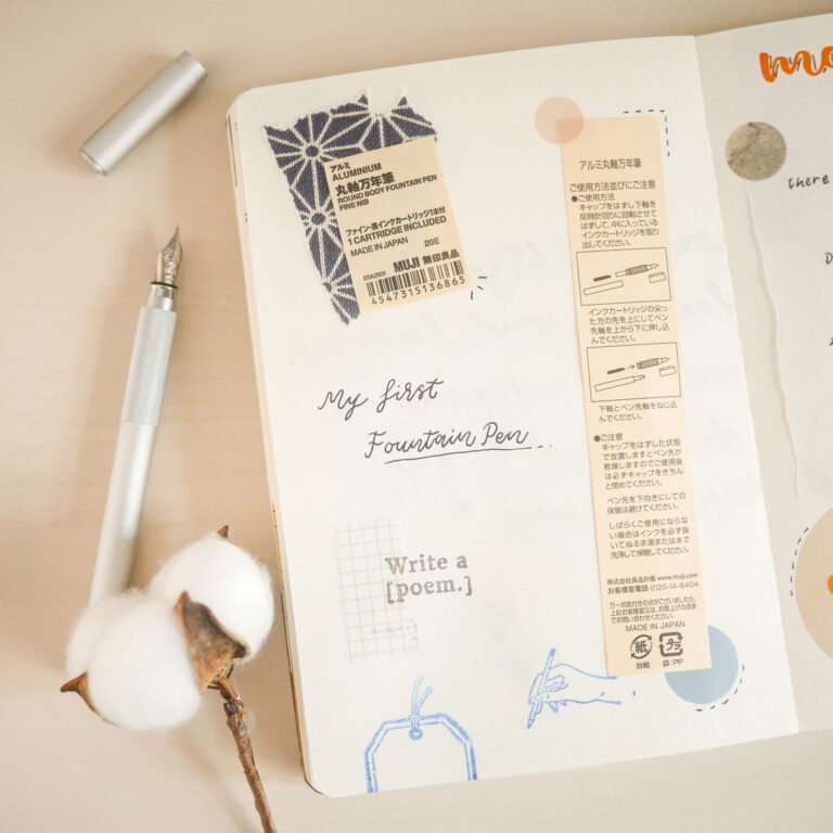 Notebook Page Idea #1: Recycle Product Packagings