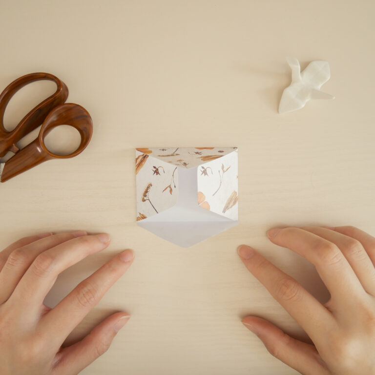 DIY Envelope Craft - Step 1