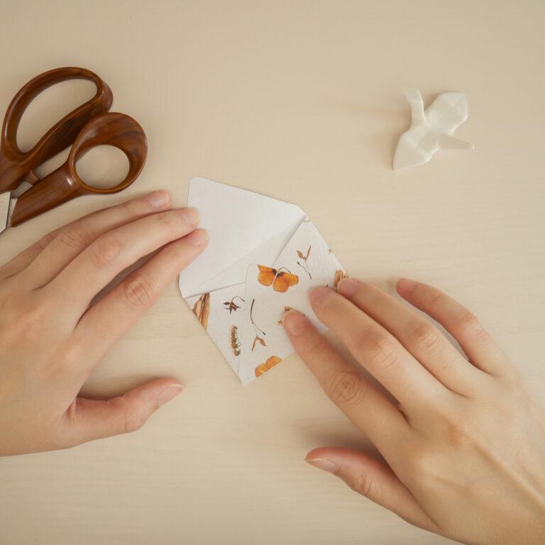 DIY Envelope Craft - Step 5