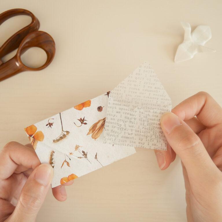 DIY Envelope Craft - Step 6