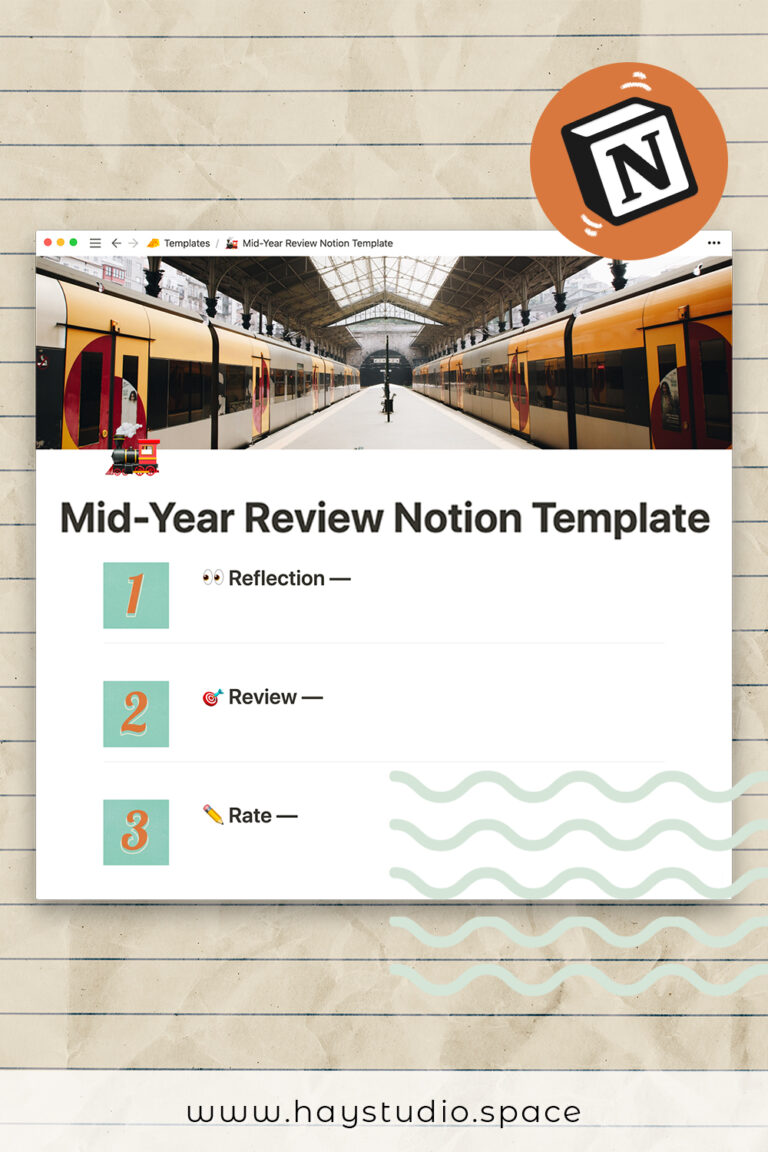 Pinterest Pin - Personal Mid Year Review