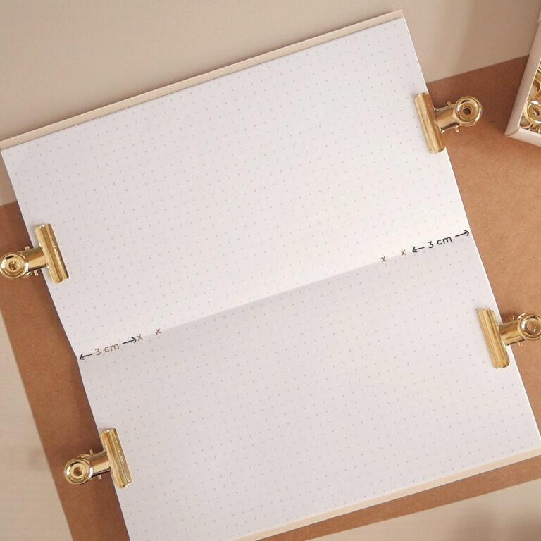 diy traveler's notebook - Step 7