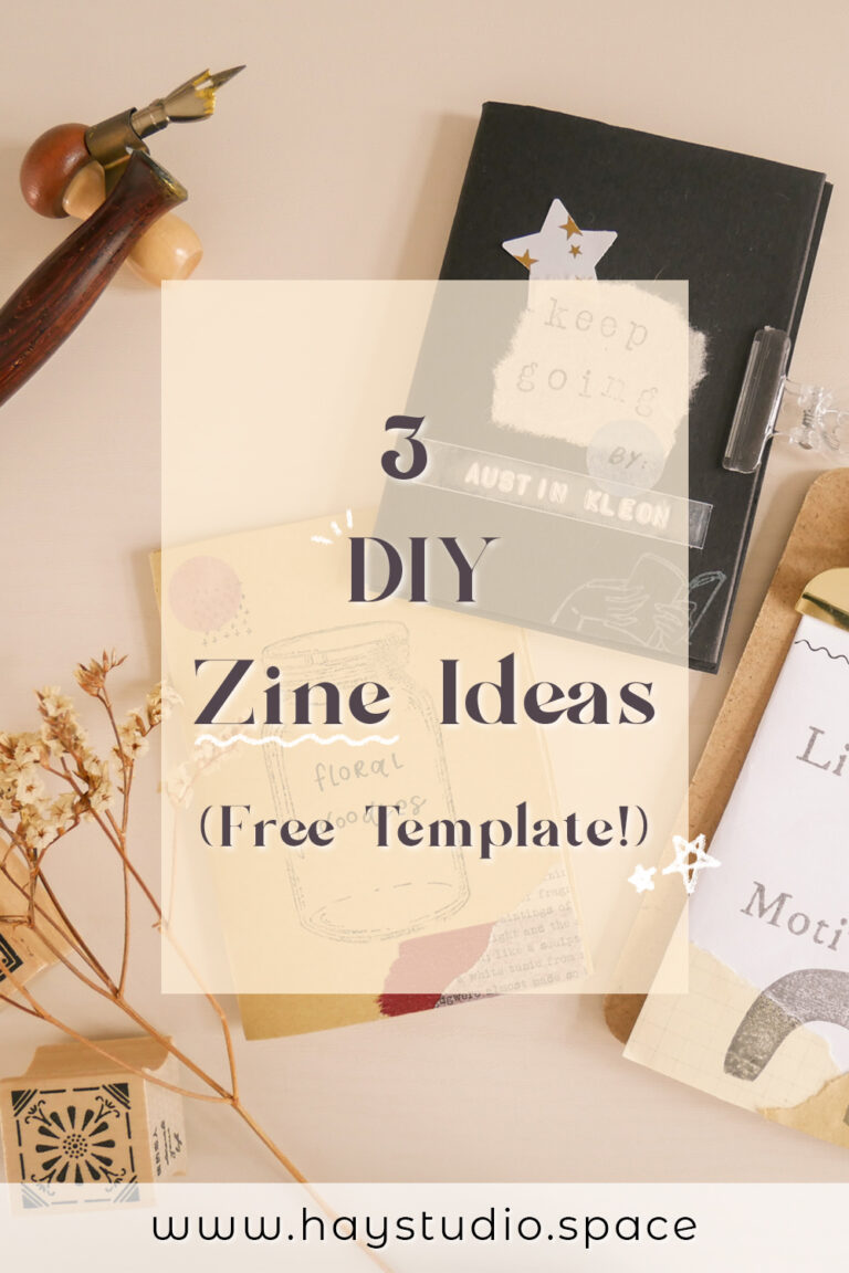 3 DIY Zine Ideas You Can Try at Home (Free Template)