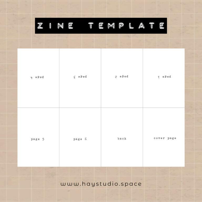 Free Zine Template